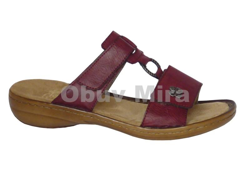 d8d533fbd7ea Boty Rieker - dámská letní obuv