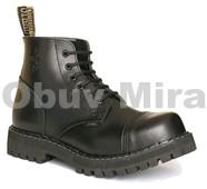 Boty Steel 6-ti dírkové. black