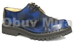 Boty Steel 3 , modrá